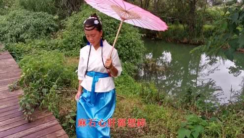贵州山歌《画妹容颜天天看》苗乡情意调,阿哥妹的心上人!